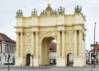 Brandenburger Tor Berlin und Brandenburger Tor Potsdam